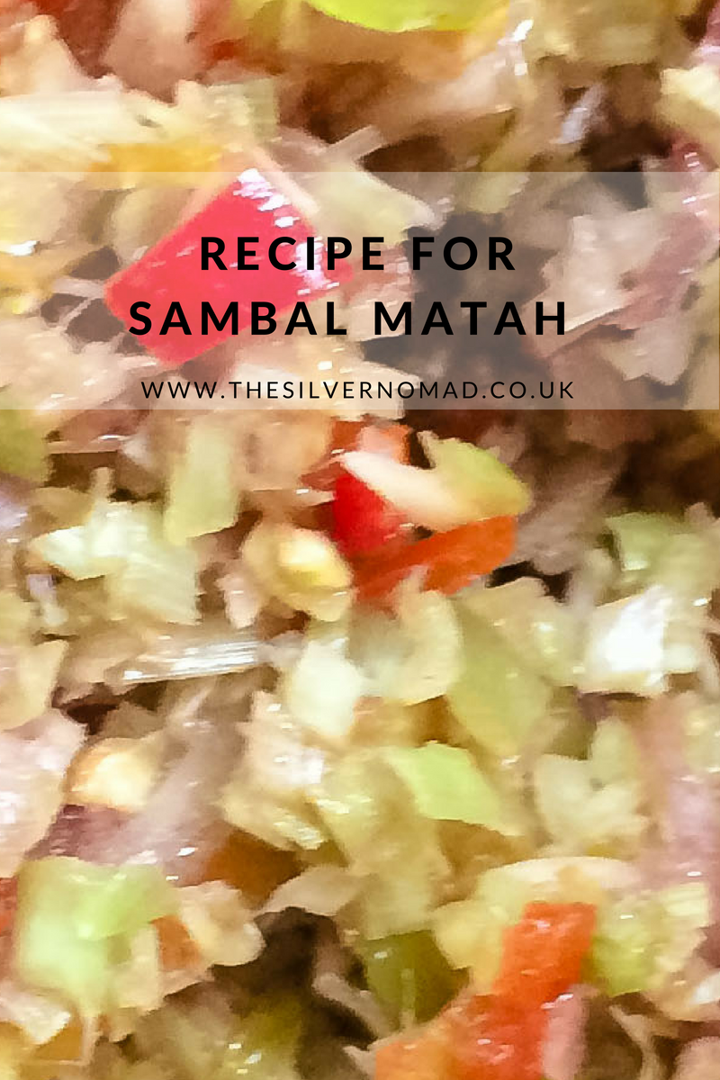 Recipe for Sambal Matah | The Silver Nomad