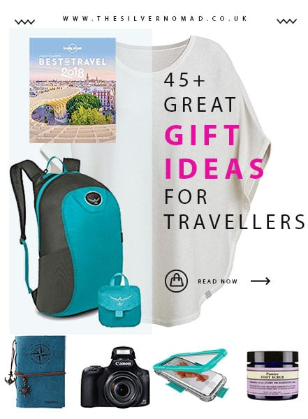 45+ gift ideas for travellers | The Silver Nomad