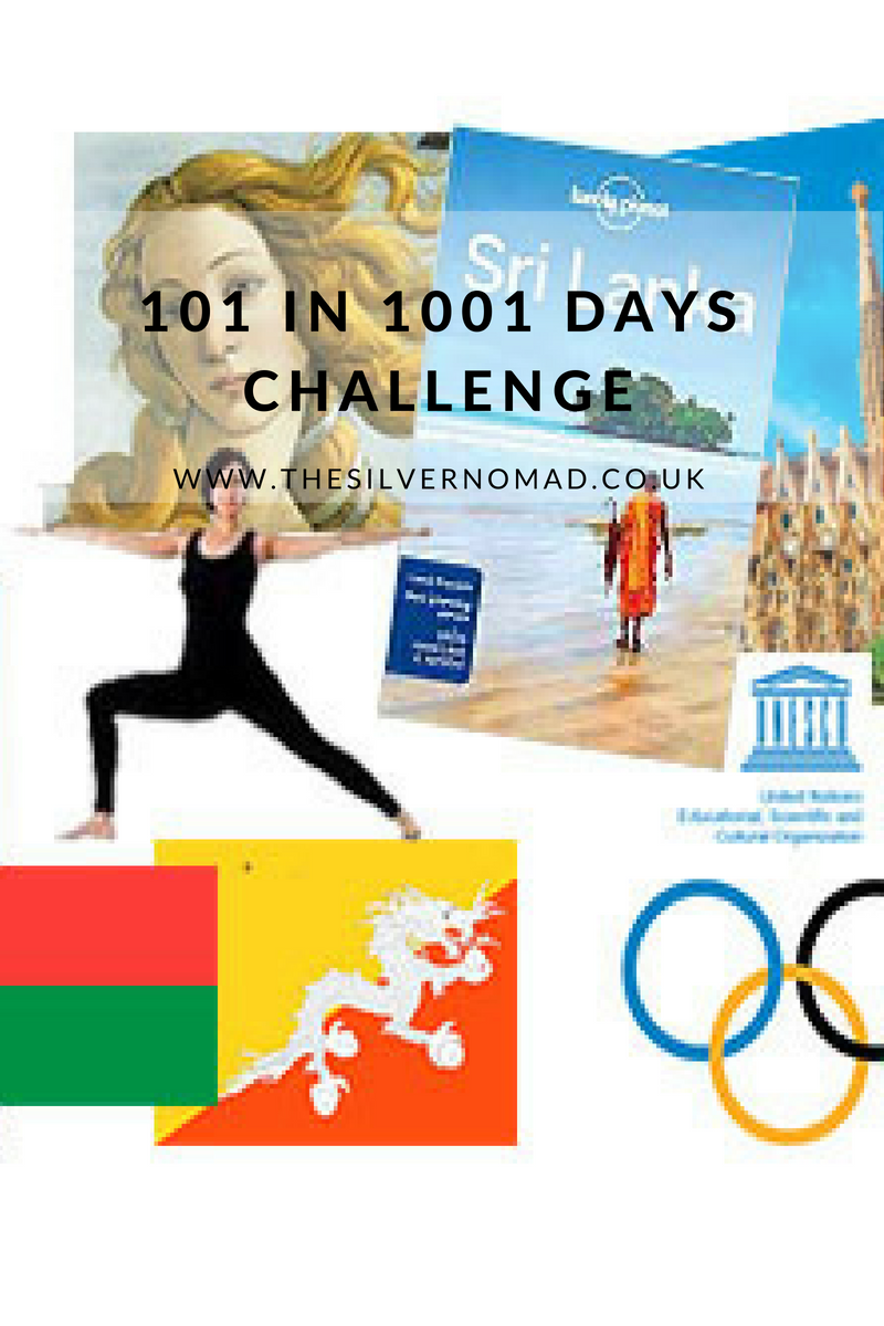 101 in 1001 Days Challenge | The Silver Nomad