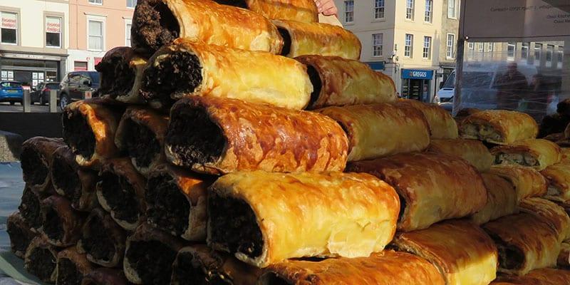 Osso Restaurant Sausage Rolls at Kelso Market
