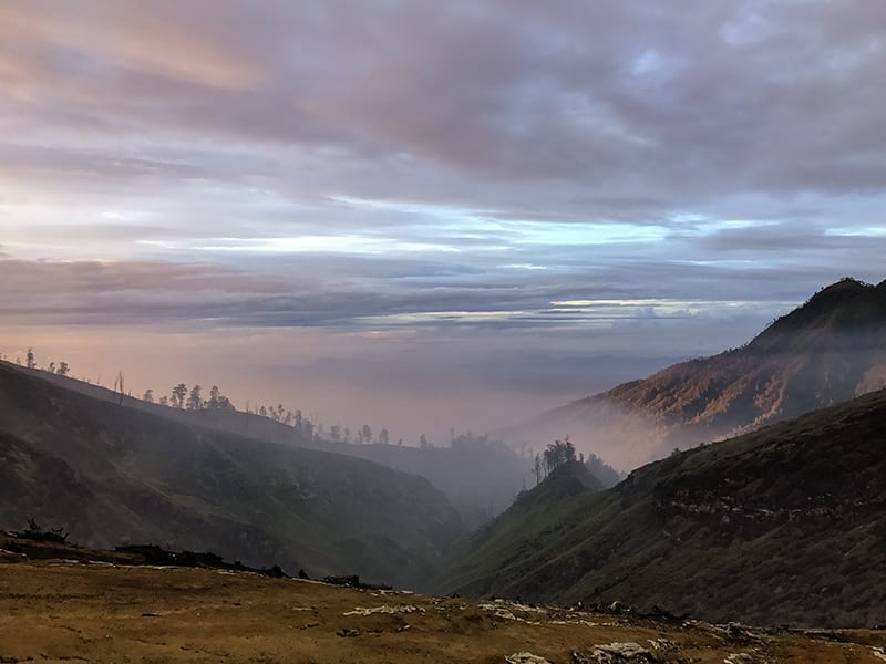 The Landscape around Ijen volcano   The Silver Nomad