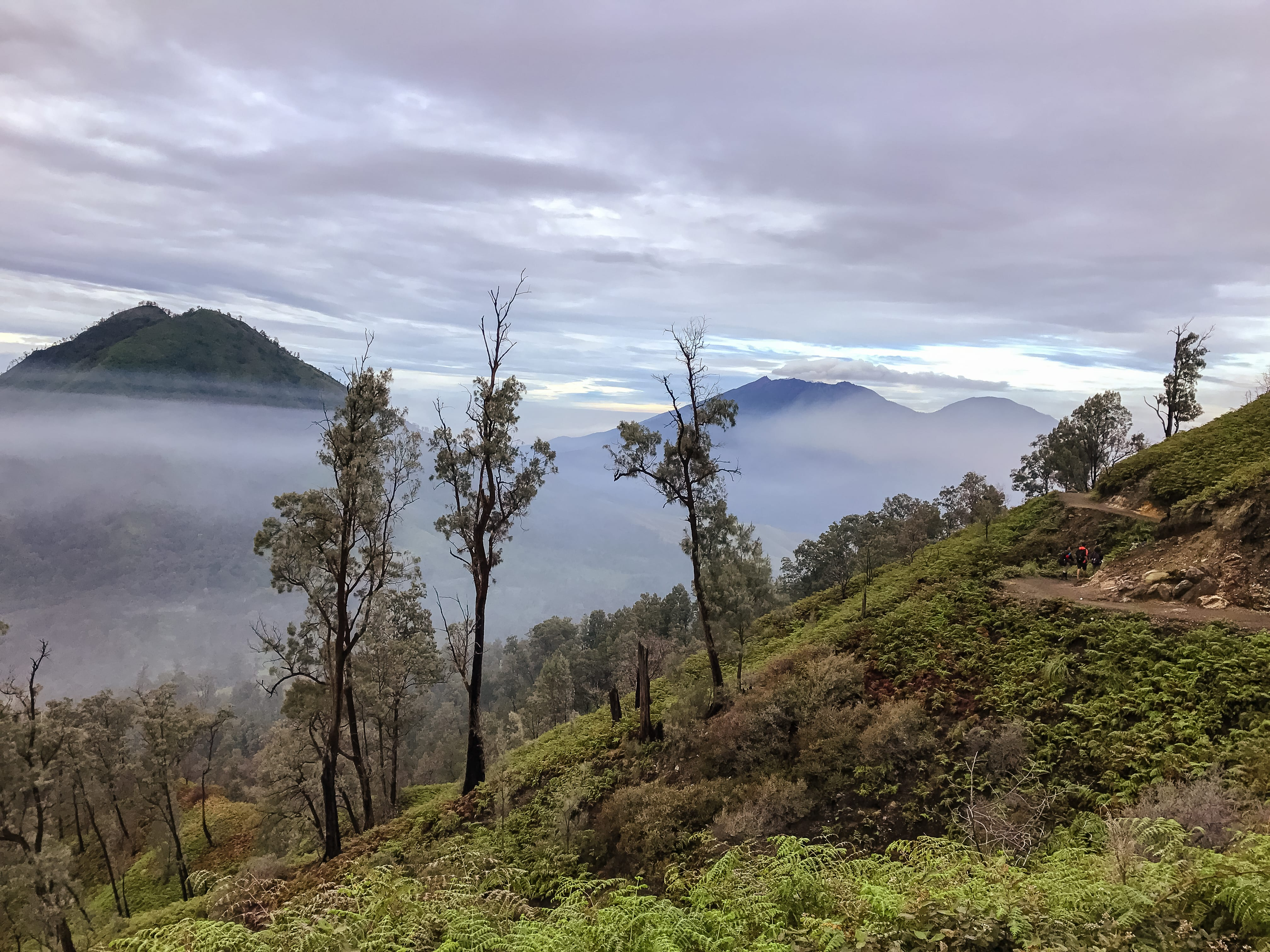 The route up Ijen volcano is revealed | The Silver Nomad
