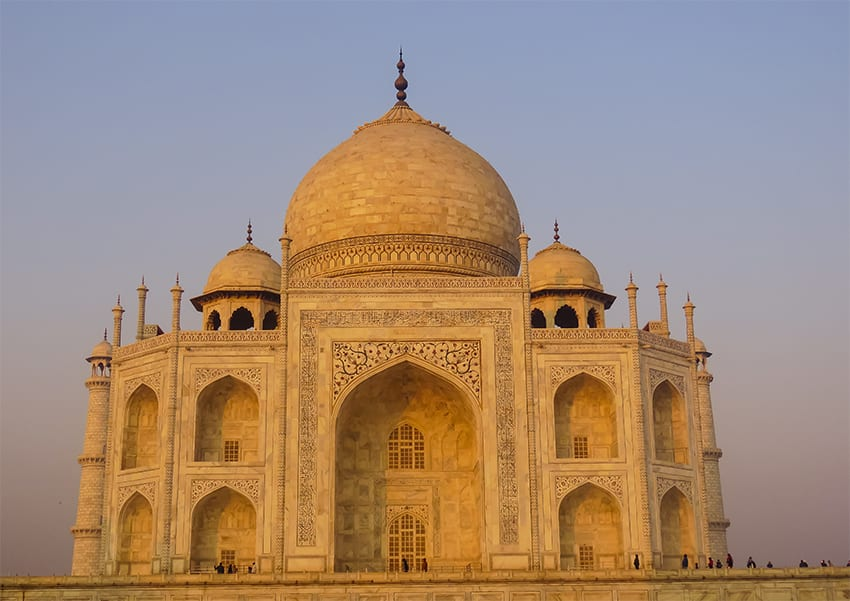 The Taj Mahal from the Guest Quarters