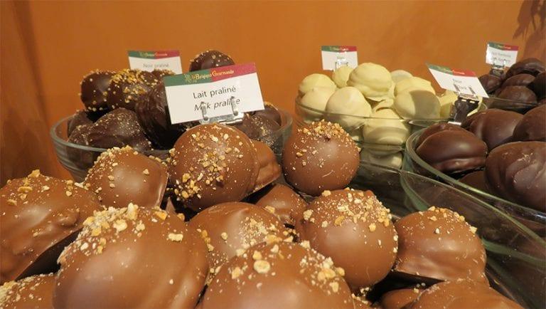 Chocolate in Belgium