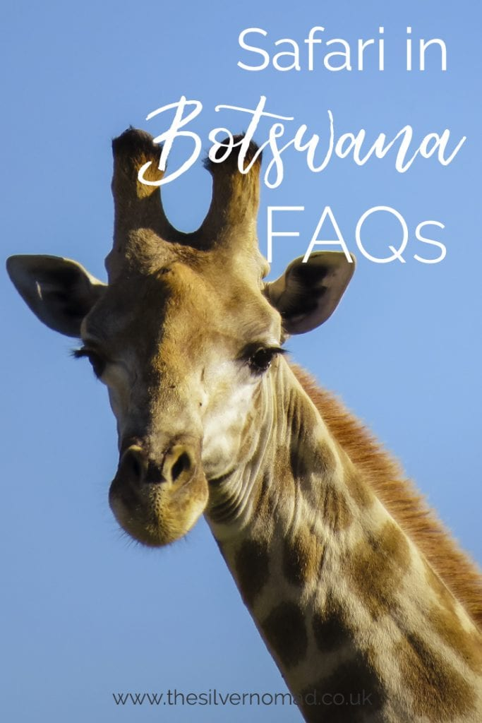 Safari in Botswana FAQs