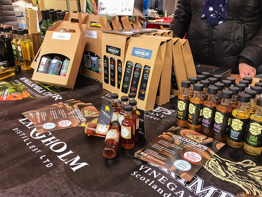 Waulmill Cider at Kelso Farmers Market
