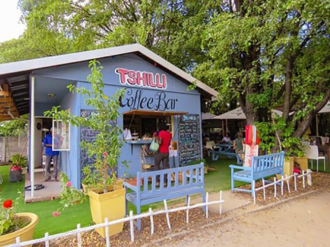 Tshilli Farmstall Cafe, Maun