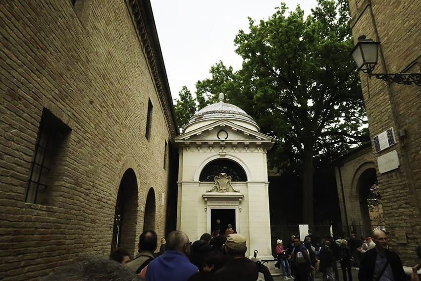 Dantes Tomb in Ravenna