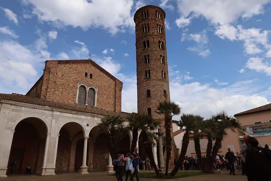 Exterior of Basilica of Sant'Apollinare Nuovo