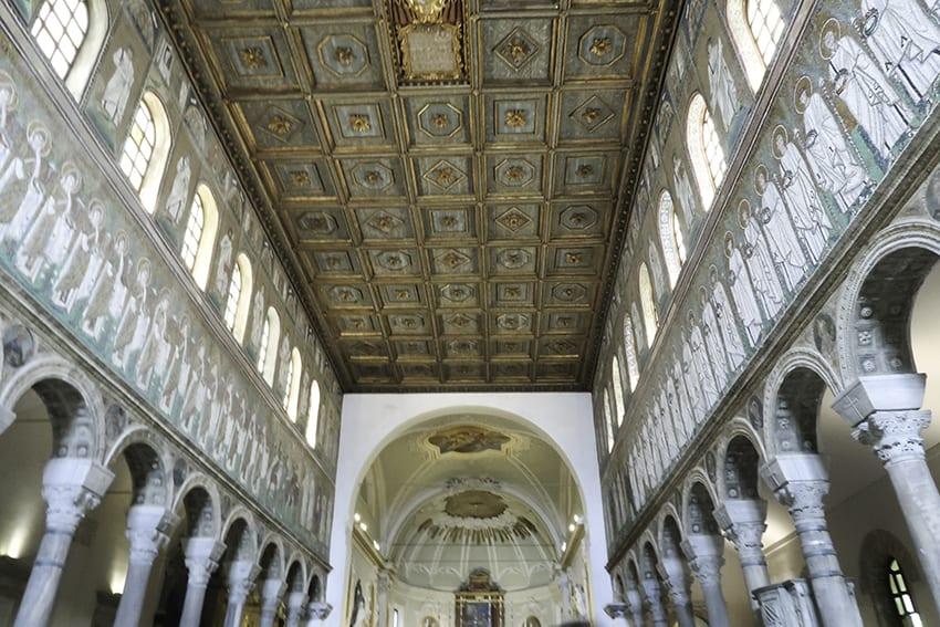 Ceiling of Basilica of Sant'Apollinare Nuovo