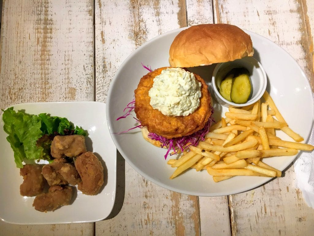 vegan burger on a bun