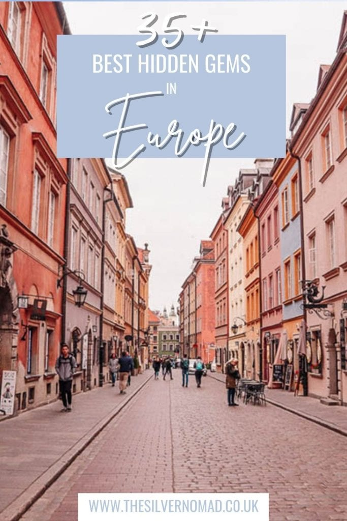 street view with the words 35+ best hidden gems in Europe superimposed